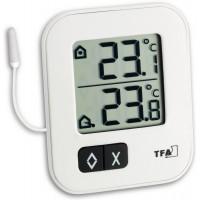 Термометр TFA цифровой Moxx белый