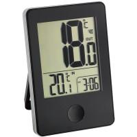 Термометр TFA цифровой Pop черный