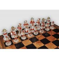 Шахматные фигуры Nigri Scacchi Impero ming battaglia cinese small size