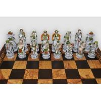 Шахматные фигуры Nigri Scacchi Impero ming battaglia cinese medium size