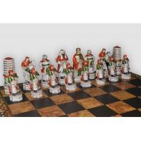 Шахматные фигуры Nigri Scacchi Cinese mongolia medium size