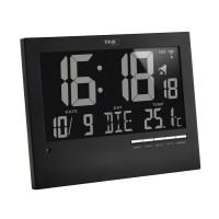 Часы настенные TFA цифровые с автоматической подсвечиванием