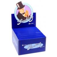 Сигаретная бумага Smoking KS Blue 110*53мм blue 33листа