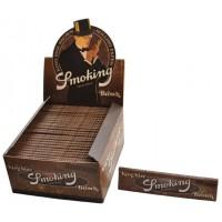 Сигаретная бумага 1017 Smoking KS 110*44мм Slim Brown 33листа