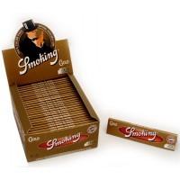 Сигаретная бумага 1018 Smoking KS 110x44мм Gold 33 листа