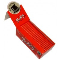 Сигаретная бумага 1004 Smoking 70 мм №8 красная 60 листов