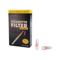Фильтры для сигарет 0161200 Atomic Slim и Superslim 20 шт
