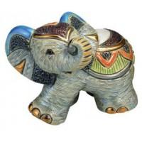 Керамическая фигурка De Rosa Rinconada Families Слоненок Индийский 2