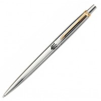 Шариковая ручка Parker Jotter SS GT Трезубец