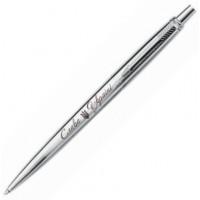 Шариковая ручка Parker Jotter SS CT Трезубец_3