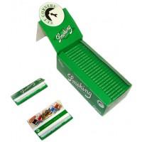 Сигаретная бумага 1007 Smoking 70 мм №8 зеленая 60 листов