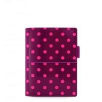 Органайзер Filofax Domino Pocket Aubergine with Spots