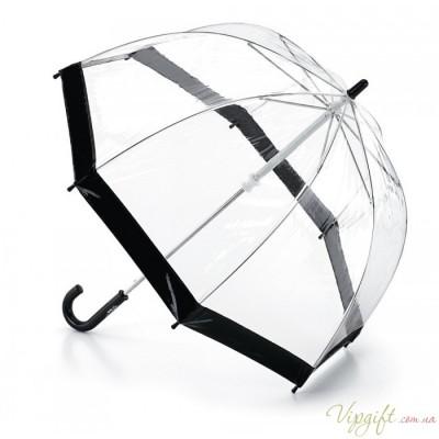 Детский зонт-трость прозрачный Fulton Funbrella-2 C603 - Black