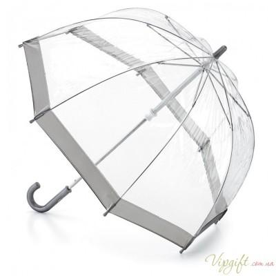 Детский зонт-трость прозрачный Fulton Funbrella-2 C603 - Silver