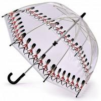 Детский зонт-трость прозрачный Fulton Funbrella-4 C605 - Guards