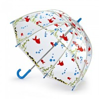 Детский зонт-трость прозрачный Fulton Funbrella-4 C605 - Gone Fishing