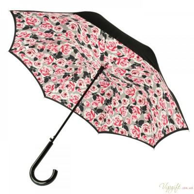 Женский зонт-трость Fulton Bloomsbury-2 L754 Painted Roses