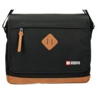 Мужская сумка Enrico Benetti Brasilia Black Eb54376001