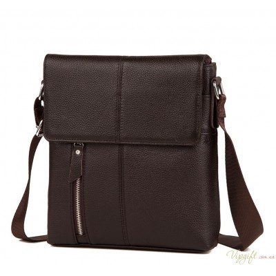Мужская кожаная сумка Tiding Bag A25-238C
