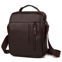 Мужская кожаная сумка Tiding Bag A25-2158C