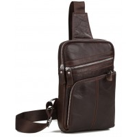 Мужская кожаная сумка Tiding Bag A25-6896C