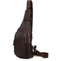 Мужская кожаная сумка Tiding Bag A25-6602C