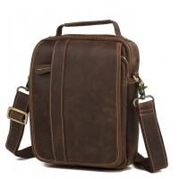 Мужская кожаная сумка Tiding Bag t3555
