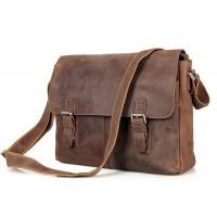 Мужская кожаная сумка Tiding Bag 6002LR-2