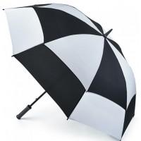 Зонт-гольфер Fulton Stormshield S669 - Black White