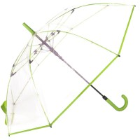 Зонт-трость женский Fare Pure FARE7112-lime