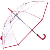 Зонт-трость женский Fare Pure FARE7112-red