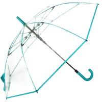 Зонт-трость женский Fare Pure FARE7112-biruza