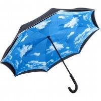 Зонт-трость обратного сложения Fare FARE7719-oblako