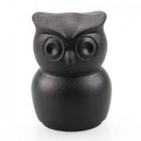 Открывалка для бутылок 2 в 1 Thirsty Owl Qualy Черная