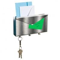 Органайзер для писем и ключей Lettro Umbra Серебро