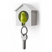 Ключница настенная и брелок для ключей Sparrow Qualy Зеленый