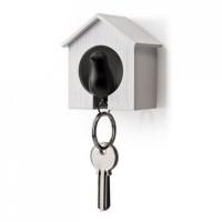 Ключница настенная и брелок для ключей Sparrow Qualy Черный