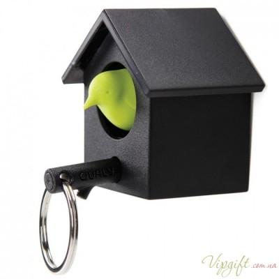 Ключница настенная и брелок для ключей Cuckoo Qualy Черный