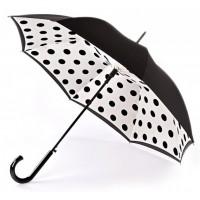 Женский зонт-трость Fulton Bloomsbury-2 L754 Polkadot