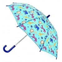 Детский зонт-трость Fulton Junior-4 C724 - Jungle Chums