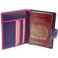 Обложка для паспорта Visconti RB75 - Sumba berry multi