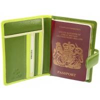 Обложка для паспорта Visconti RB75 - Sumba lime multi