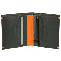 Портмоне Visconti AP61 Brig Black-Orange