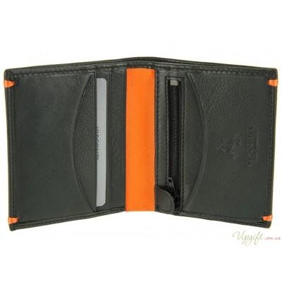 Портмоне Visconti AP61 Brig Black-Orange