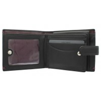 Портмоне Visconti AP63 Lucerne Black-Burgundy