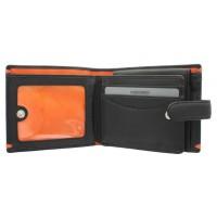 Портмоне Visconti AP63 Lucerne Black-Orange