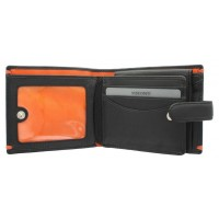 Портмоне Visconti AP63 Lucerne Black-Orange