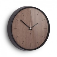 Настенные часы Madera Umbra Черные-Коричневые