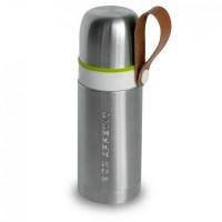 Термос стальной Thermo Flask Black+Blum Серебристый с зеленым