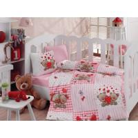 Постельное белье Cotton Box для новорожденных Yumi Kahve